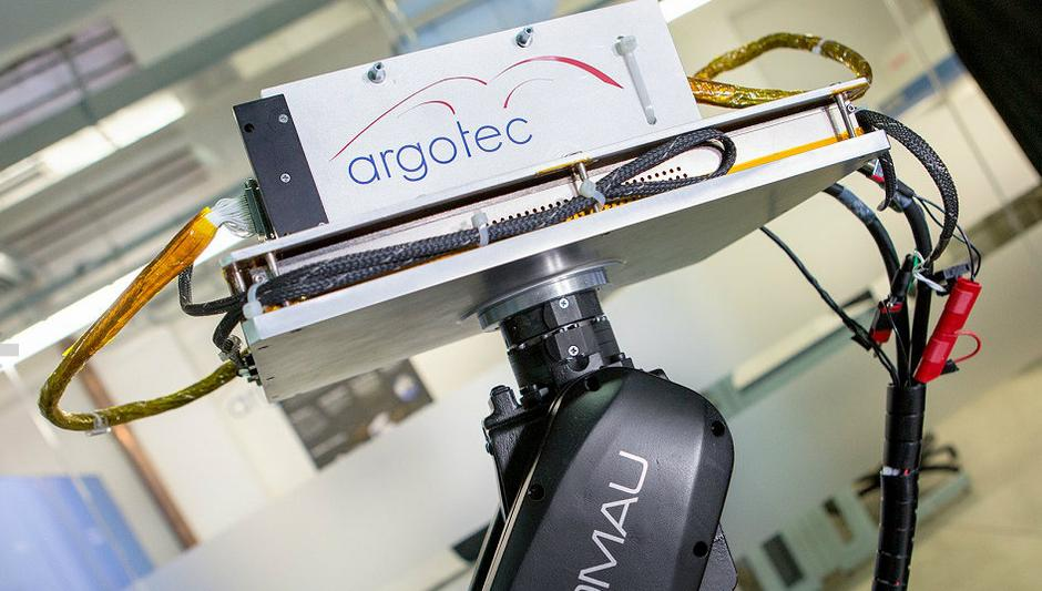 Comau and Argotec develop pioneering system for testing satellite parts