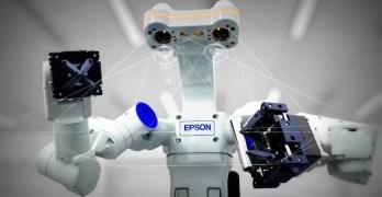 Epson brings 'WorkSense' dual-armed robot to Europe