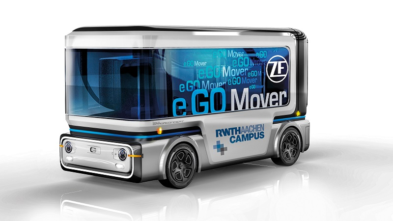ZF and e.Go to start series production of autonomous and electric 'people mover' vehicle