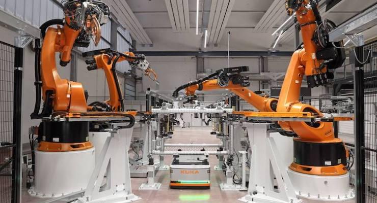 kuka agv and robots demo copy