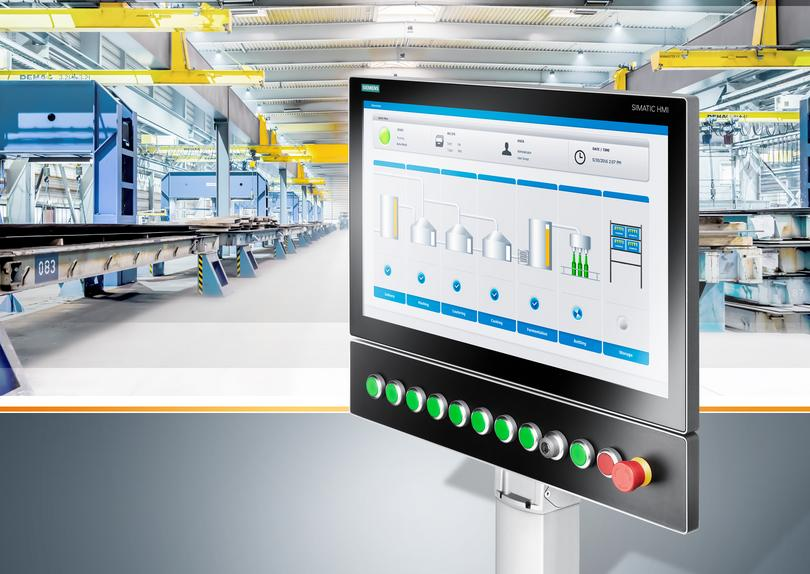 Siemens extends HMI range for industrial applications