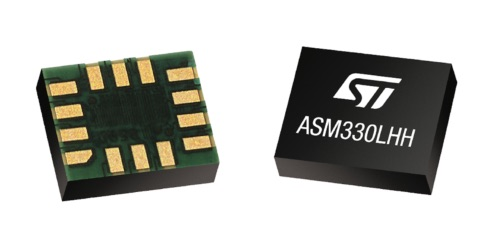 STMicroelectronics releases 'super-high-resolution' motion-tracking sensor for automotive applications