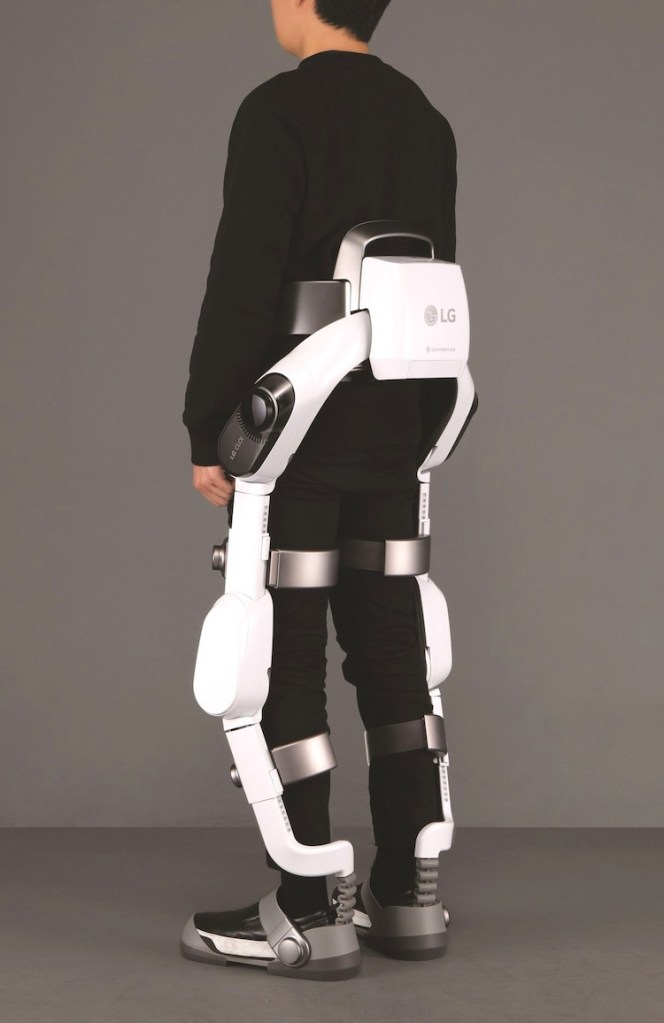 LG Electronics to show off its new exoskeleton or 'wearable robot'