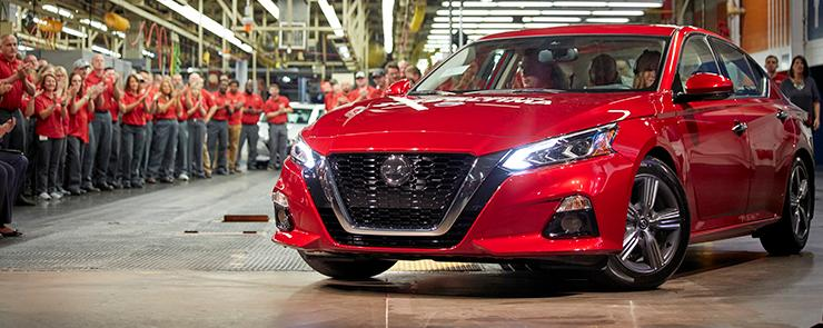 Nissan invests $170m in US assembly plants to build Altima