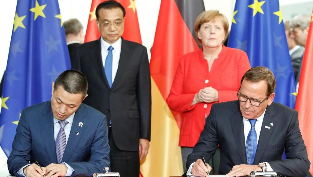 Bosch and Nio sign strategic partnership agreement