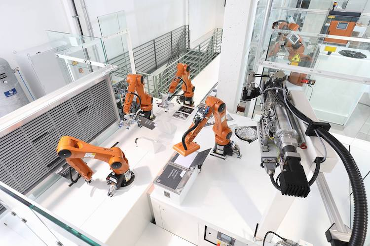Kuka launches 'smart factory as a service' with partners