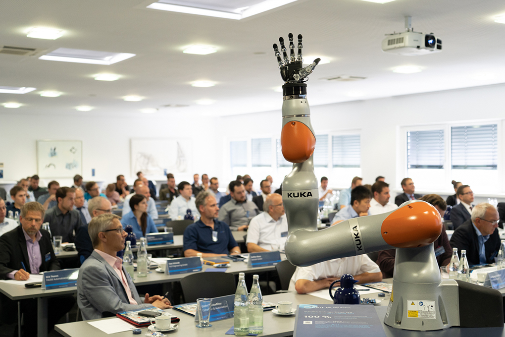Human-robot collaboration combines human and robot strengths, says Schunk