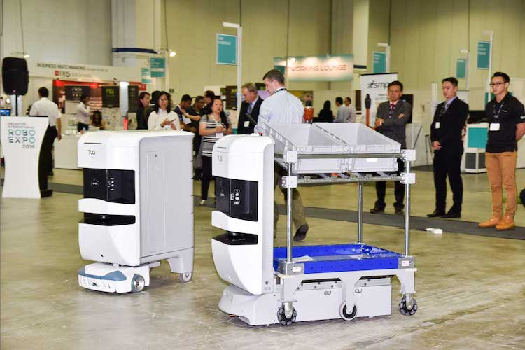 Singapore robotics event returns against 'exponential change in industry'
