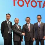 Toyota and SoftBank to set up new mobility services joint venture