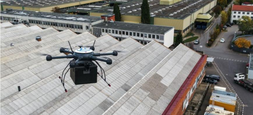 ZF gets green light for drone deliveries in Germany