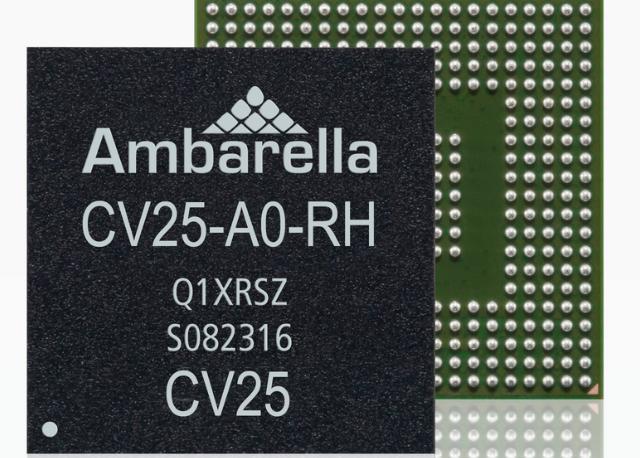 Ambarella introduces CV25 SoC computer vision camera chip