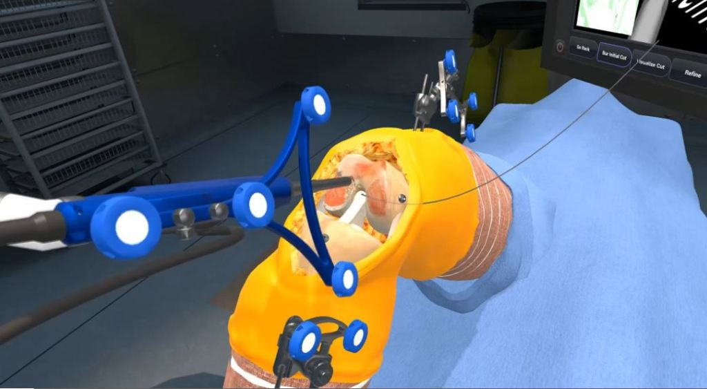 NAVIO Virtual Reality Training Screenshot 2