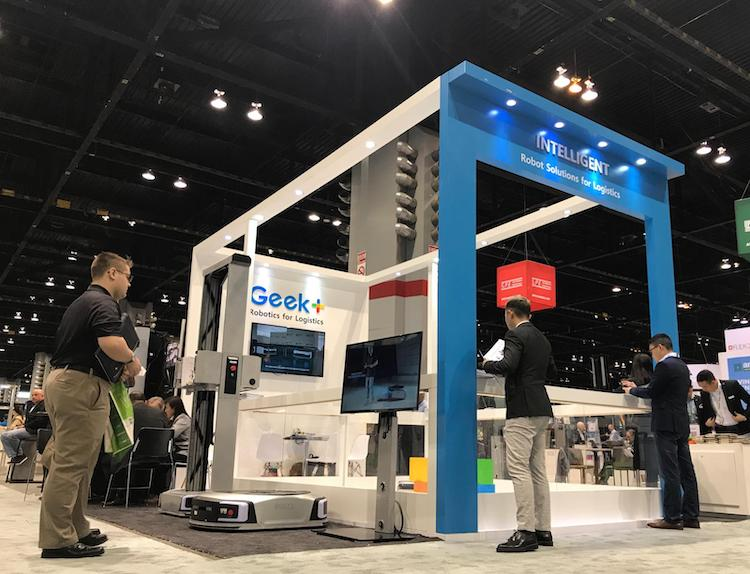 geek plus promat stand copy
