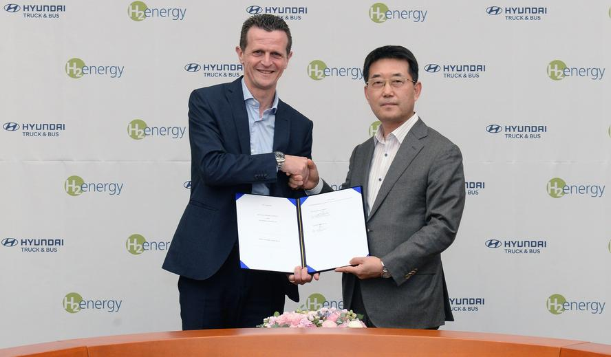 Hyundai and H2 Energy sign joint venture deal on hydrogen mobility in Europe