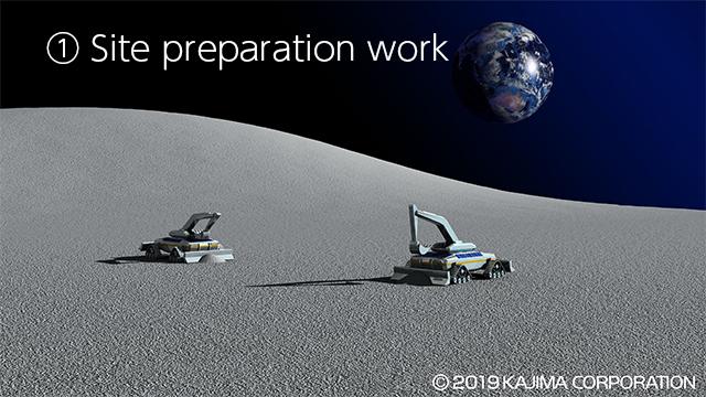 jaxa lunar base site prep 1