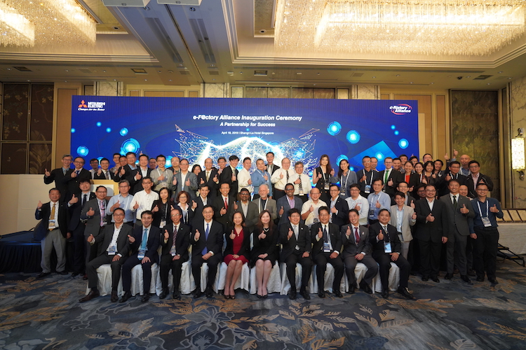 Mitsubishi Electric hosts its first 'e-F@ctory Alliance' in Singapore