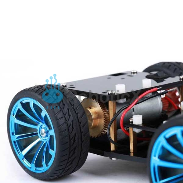 4WD RC Smart Car Chassis -04