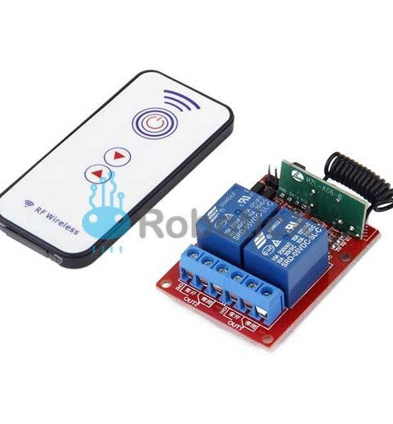 2 Channels RF Remote -01
