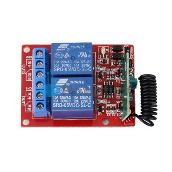 2 Channels RF Remote -02