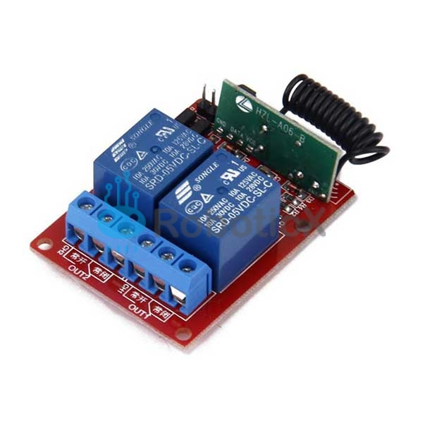 2 Channels RF Remote -03