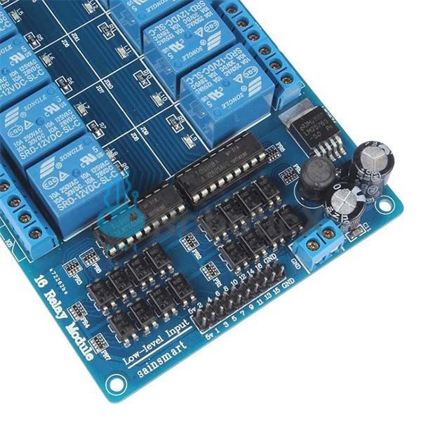 16-Channel 12V Relay Module -05