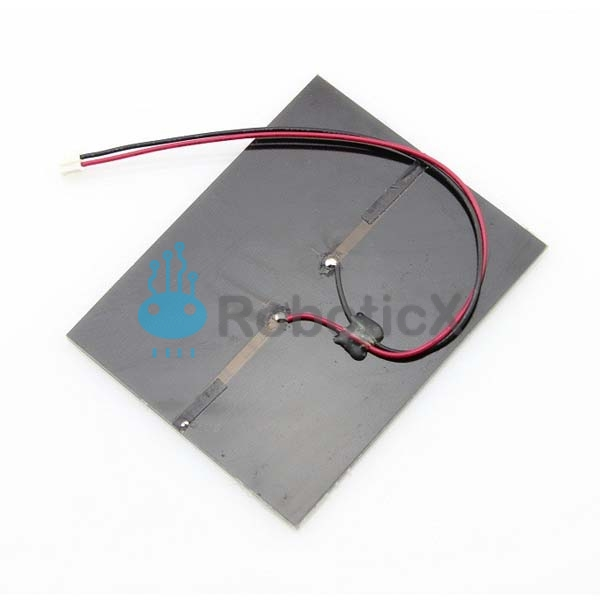 1w solar panel with wires electronic parts