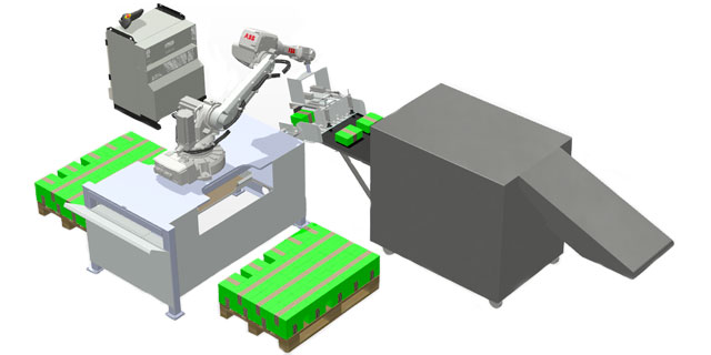 RoboPall Magasin Palletering