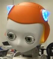 Dreamer från Meka-HCRL får sällskapligt robothuvud