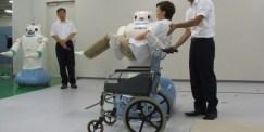 Robotbjörnen RIBA-II ett lyft för vården i Japan