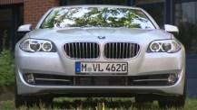 Semi-autonom BMW gör automatiska omkörningar