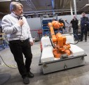 Invigning av Robot Application Center i Eskilstuna 19 mars