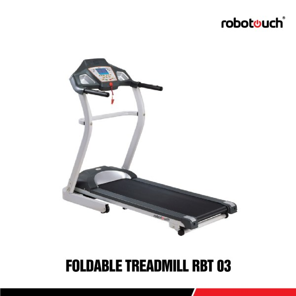 Robotouch RBT-03 Foldable Motorized Treadmill For Home Gym with MP3 - 2HP Motor-0