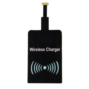 Fantasy Wireless Charger & Wireless Charging Receiver for All Samsung Galaxy Note Edge / N915V / N915P / N915T / N915A other android mobiles(M3 Black)-581