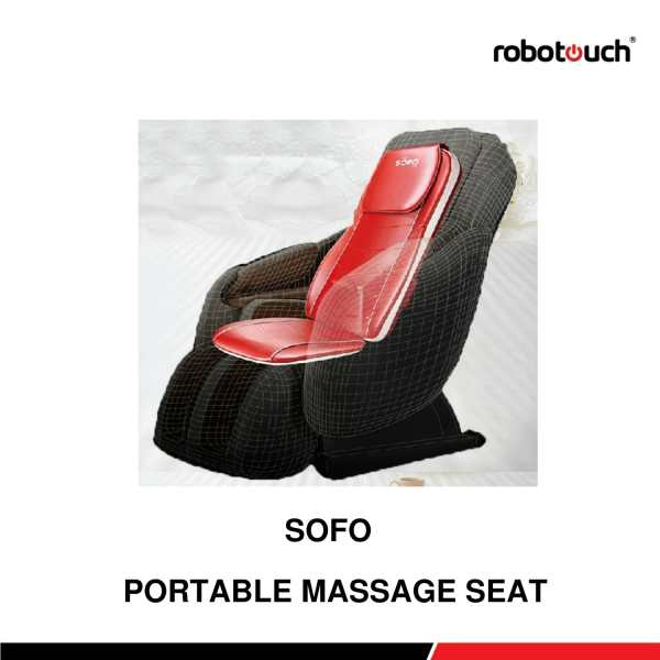 Robotouch Sofo Portable Massage Seat/Chair - Perfect Experiance Of Life.-0