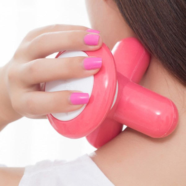 Robotouch Mini Massager - Full Body Deep Muscle Massage Pain Relief - Color Pink-818
