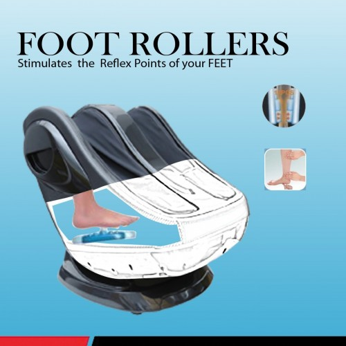 Robotouch Pedilax warm Ultimate Foot and Calf Massager-Black-904