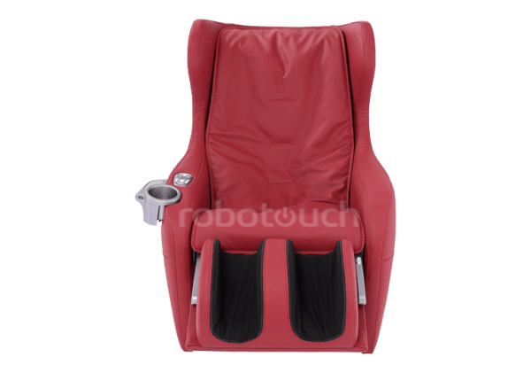 RoboTouch Relaxo Massage Sofa With Foldable Footrest Rose Red