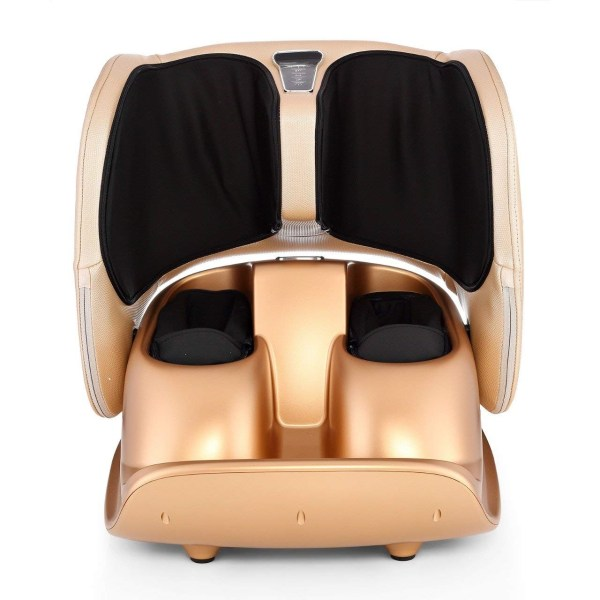 Robotouch Compact Foldable Leg and Foot Massager (Gold) -909