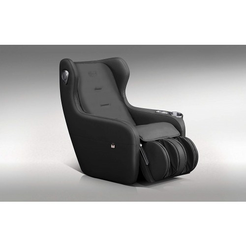 RoboTouch Relaxo Massage Sofa With Foldable Footrest (Black) -918