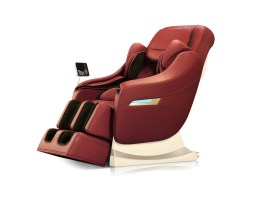 Elite Massage Chair Rose-Red Robotouch