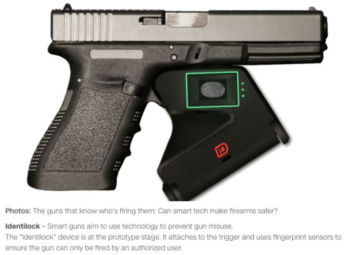 Can Technology Help Stop Gun Violence? – CHRONICLING THE ROBOT INDUSTRY