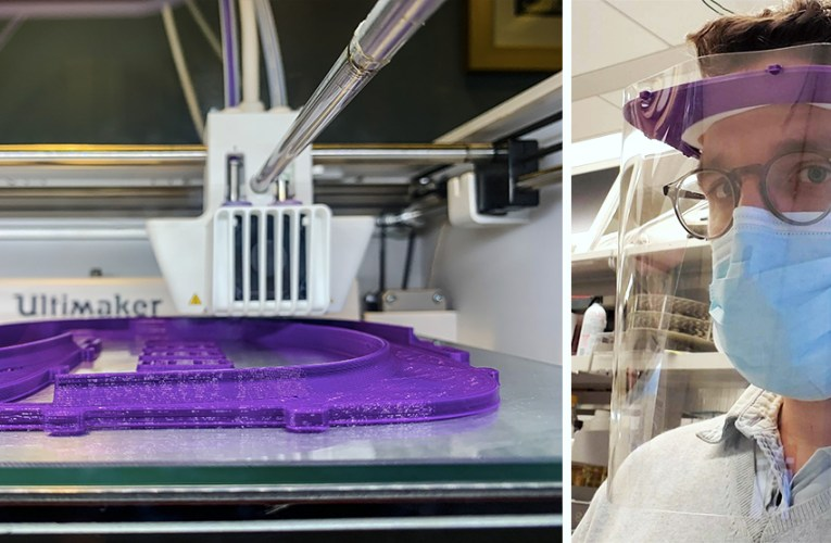 COVID-19 Lockdown Day 50: 3D Printing Vital Equipment