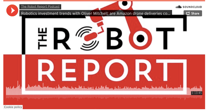 My Podcast With The Robot Report