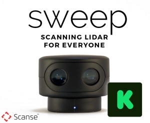 SWEEP SENSOR, LOW RES, WITH KICKSTARTER