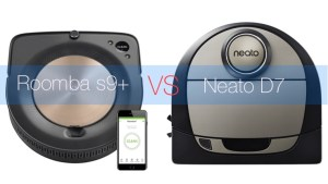 Roomba s9+ vs Neato D7 Botvac Connected