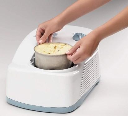 Delonghi machine à Glace Blanc