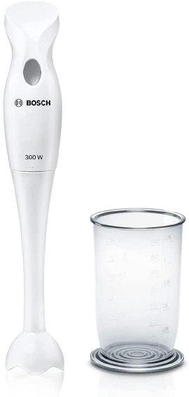 Mixeur plongeant bosch 300 W Blanc, MSM6B150