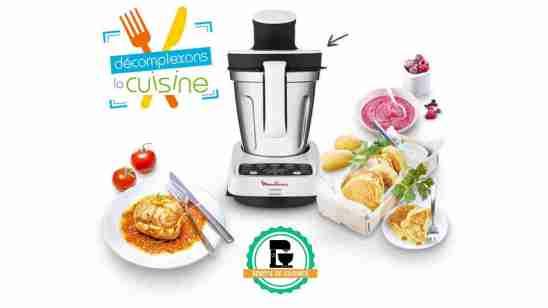 Moulinex Volupta HF4041 Robot de cuisine multifonction