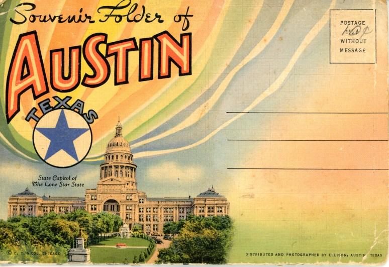 Souvenir Folder of Austin