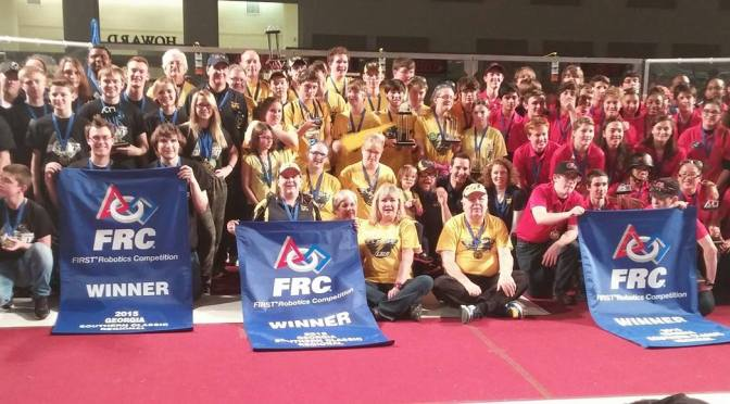Robots-R-Us earns Regional Winner title!
